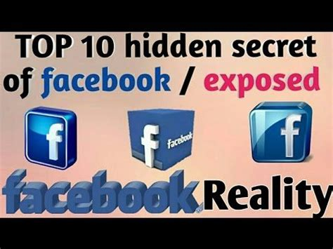 TOP 10 hidden & amazing Facebook 'secrets' you probably ...