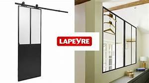 Porte Coulissante Atelier Lapeyre : porte coulissante verriere lapeyre menuiserie image et ~ Dailycaller-alerts.com Idées de Décoration