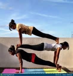 Partner Yoga Challenge Poses