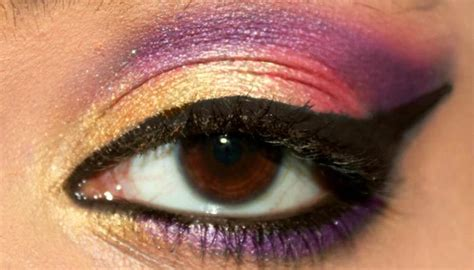 bollywood inspired eye makeup step  step tutorial
