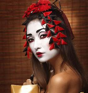Easy, Diy, Makeup, Ideas, To, Get, The, Perfect, Geisha, Look