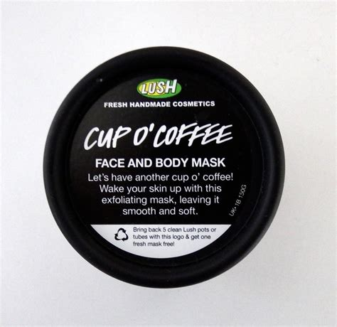 › cup o coffee lush expiration. Lush Cup O' Coffee Face and Body Mask Review | Maiyabellexo