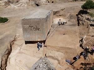 Arqueólogos hallan el bloque de piedra más grande del ...