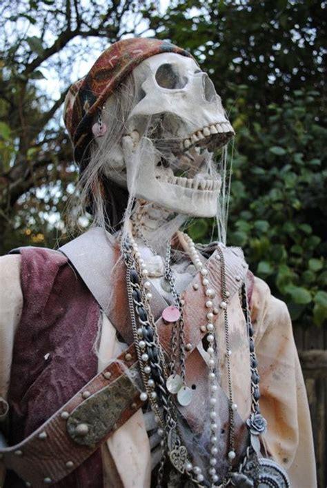 quality pirate skeleton halloween prop dead walk