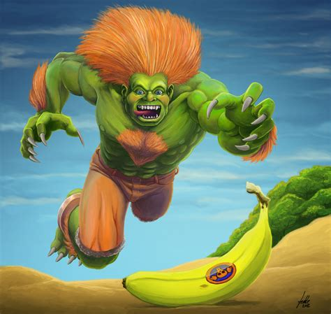 Blanka Sf 25an Tribute By Fedde On Deviantart