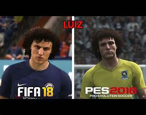 FIFA 18 Vs PES 2018 Graphics Compared Which Players