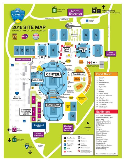 site map site map western southern open