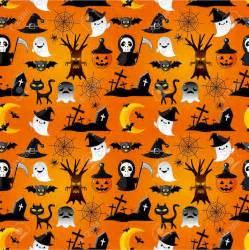 Cute Halloween Cartoon Wallpaper