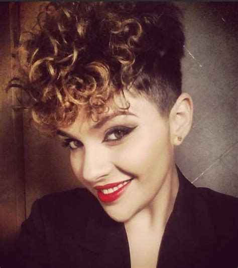 easy hairstyles  short curly hair short hairstyles    popular short