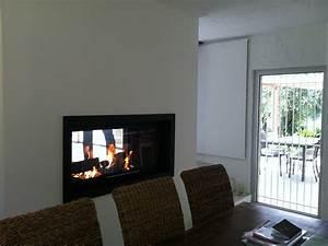 Installer Une Cheminée : installation d 39 une chemin e double face tanneron ~ Premium-room.com Idées de Décoration
