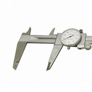 6 U0026quot  Stainless Steel 4 Way Dial Caliper Shockproof  001 U0026 39  U0026 39  Grad Calipers Ruler