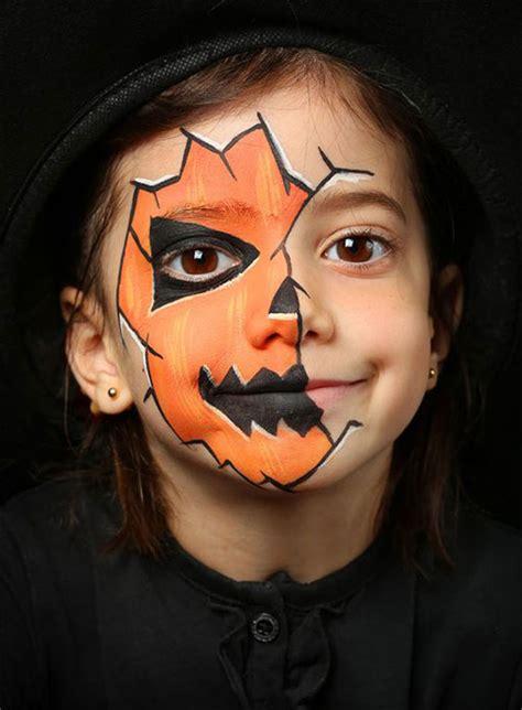 easy halloween makeup ideas  kids  modern fashion blog