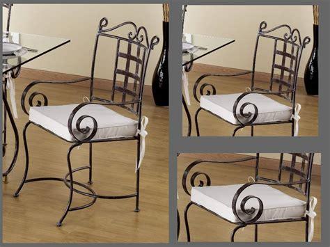 chaises fer forgé chaise fer
