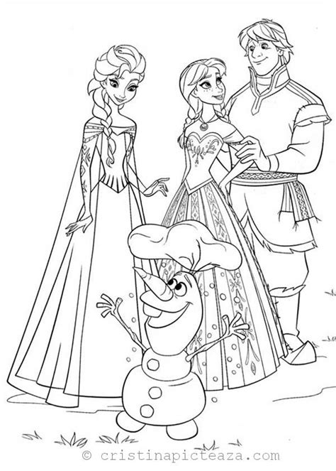 frozen  coloring pages elsa  anna coloring