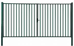 Portail 4 Metres 2 Vantaux : portail 2 vantaux ares pro barreaud passage 300 cm ~ Edinachiropracticcenter.com Idées de Décoration