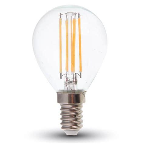 LED Filament E14 Lampe 4W 320Lm warmweiss dimmbar hier