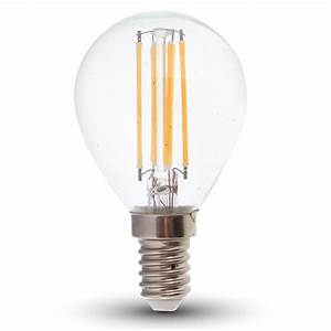 Filament Led E14 : led filament e14 lampe 4w 320lm warmweiss dimmbar hier bestellen ~ Markanthonyermac.com Haus und Dekorationen