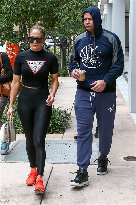 jennifer lopez  workout gear miami