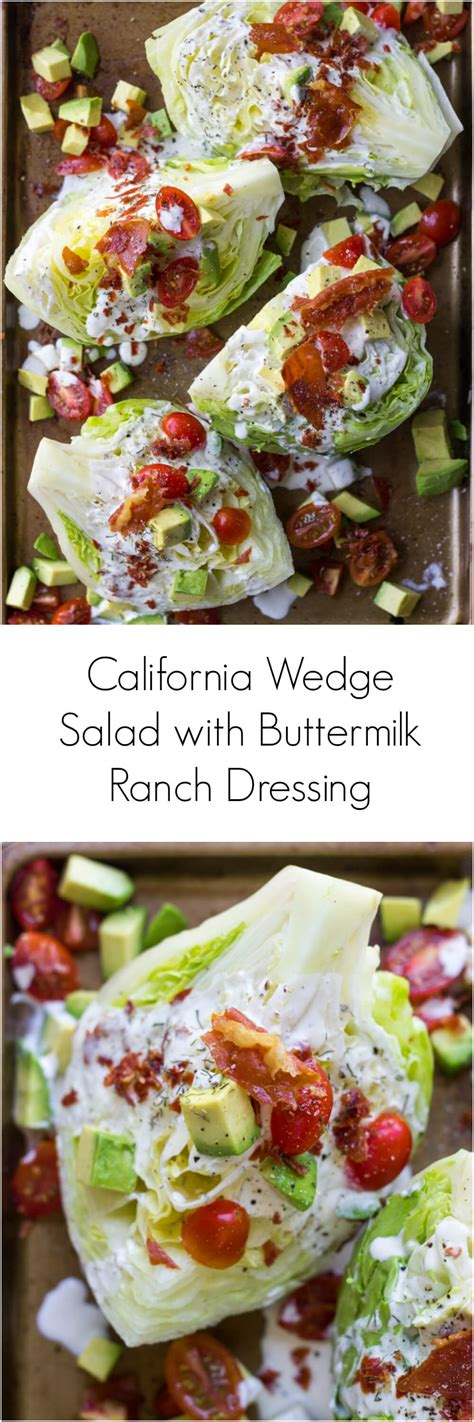 Ranch Dressing Houses Not Salads by California Wedge Salad With Prosciutto Crumbles And