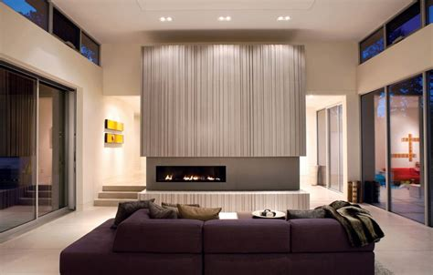 fireplace surround ideas and eye catching how to match a purple sofa to your living room décor