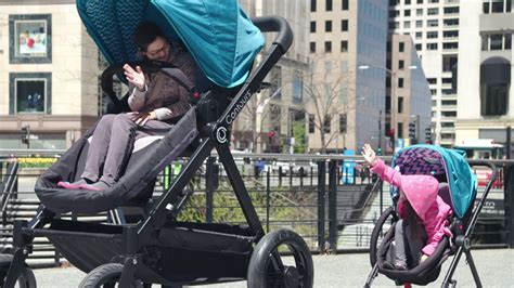 adult sized baby stroller lets parents test drive their