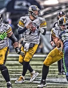 Ben Roethlisberger Pittsburgh Steelers Art Painting by Joe
