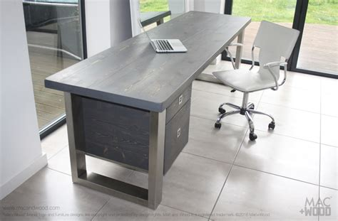 Office Desk Gray by Office Desks Home Office Desks Copper Zinc Wood