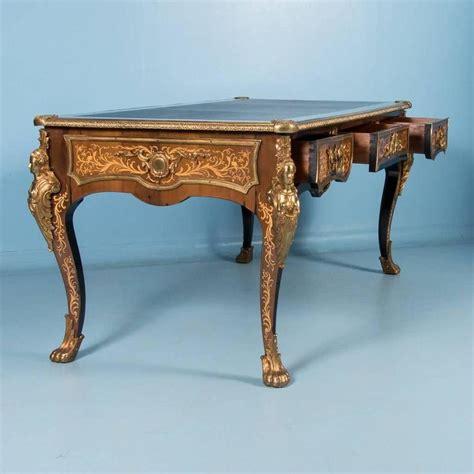 bureau style vintage antique bureau plat writing desk louis xv style at