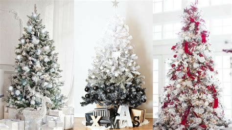 Ideas Decorating White Tree by White Tree Decorating Ideas For 2017