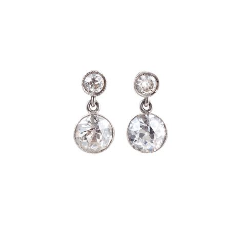 Platinum & 165ct Diamond Drop Earrings. Diamond Hinged Bangle Bracelet. Statement Stud Earrings. Moissanite Bands. Synthetic Wedding Rings. Platinum Diamond Band. High End Watches. Gift Watches. Asymmetrical Necklace