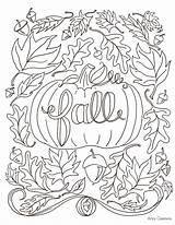 Coloring Fall Pumpkin Artzycreations sketch template
