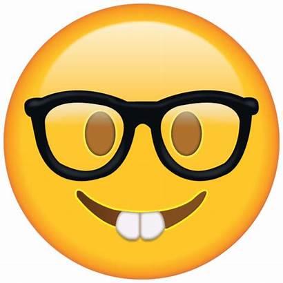 Emoji Glasses Nerd Island Icon