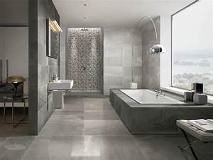 porcelain stoneware wall floor tiles with marble effect With salle de bain design avec vasque villeroy et boch