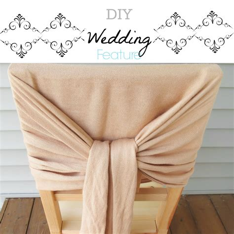 diy wedding feature scarves as chair d 233 cor city of