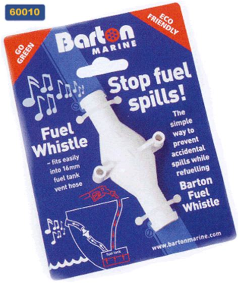Boat Fuel Tank Vent Whistle by Barton Marine Products Fuel Whistle