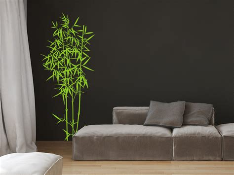 wandtattoo bambus strauch von wandtattoonet