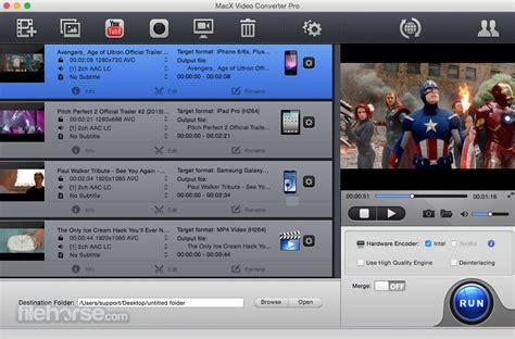 MacX Video Converter Pro - Download Free (2021 Latest Version)