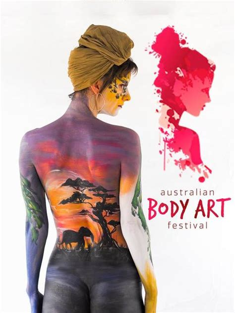 australian body art festival wild