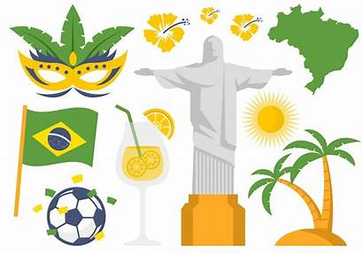 Brazil Symbol Icon Map Clipart Icons Palm