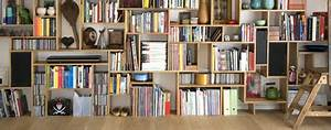 Fabriquer Une Bibliothèque Murale : meuble palette bibliotheque ~ Louise-bijoux.com Idées de Décoration