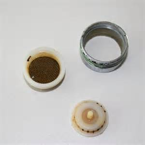 delta faucet aerator assembly diagram clean a faucet aerator for better water plumbing