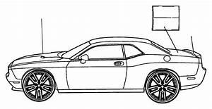 Dodge Challenger Bumper Decal  Srt 392  Rear Bumper Cover