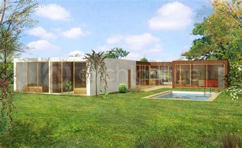 plan maison plain pied 100m2 3 chambres plan de maison moderne gratuit pdf prix abordable maison