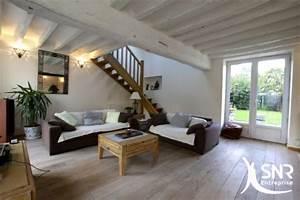 Poser Du Lambris Dans Les Combles : renovation maison et amenagement comble avec snr entreprise ~ Premium-room.com Idées de Décoration