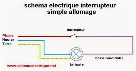 3 interrupteur pour une le schema electrique branchement cablage