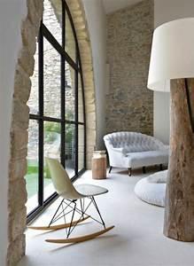 Decoration Mur Interieur Salon : le mur en pierre apparente en 57 photos pierre de ~ Dailycaller-alerts.com Idées de Décoration