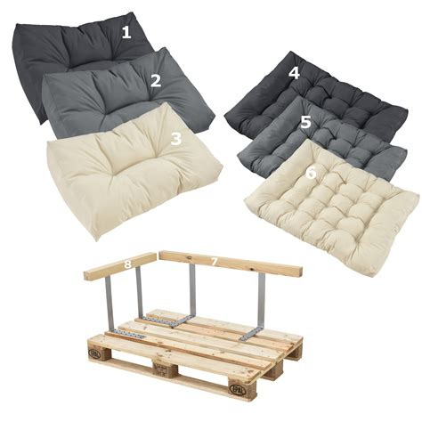 Cushions For Pallet by En Casa Pallet Cushions In Outdoor Pallets Cushion Sofa