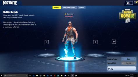 fortnite battle royale   change character jeux