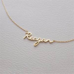 new trendy 18k gold plate jewelry letter necklace design With letter necklace cheap