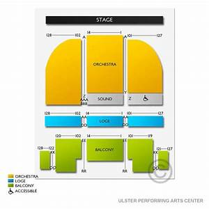 Ulster Performing Arts Center Seating Chart